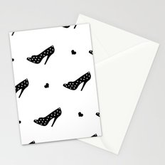 Black Heels Stationery Cards