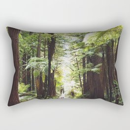 Redwood path Rectangular Pillow