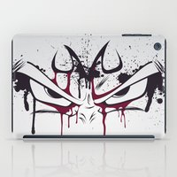 vegeta iPad Cases featuring Majin Vegeta by freefallflow