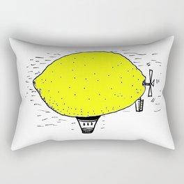 Lemon zeppelin Rectangular Pillow