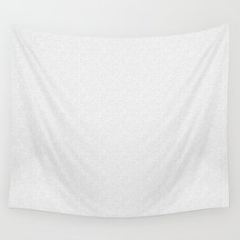 Pure White Grains Wall Tapestry