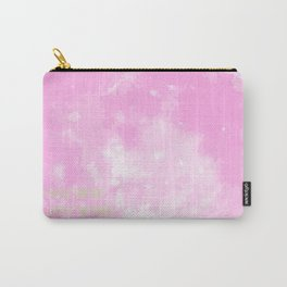 Love By The Moon Pink Carry-All Pouch