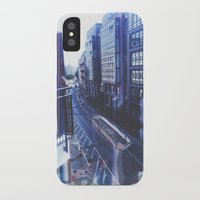 street iPhone & iPod Cases featuring Street by Michaela Ramstedt