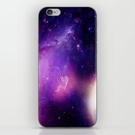 Detached in the Universe iPhone Skin