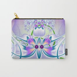 Vilolet flower Carry-All Pouch