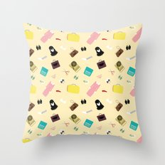 Moonrise Kingdom's Suzy Bishop Pattern Throw Pillow