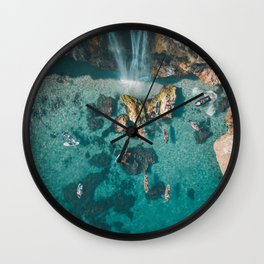 Mediterranean Sea Wall Clock