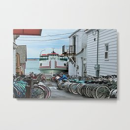 A View of the Chippewa Metal Print