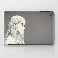 thrones iPad Cases featuring D T by CranioDsgn