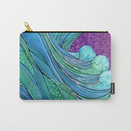 The Ocean In A Storm Carry-All Pouch