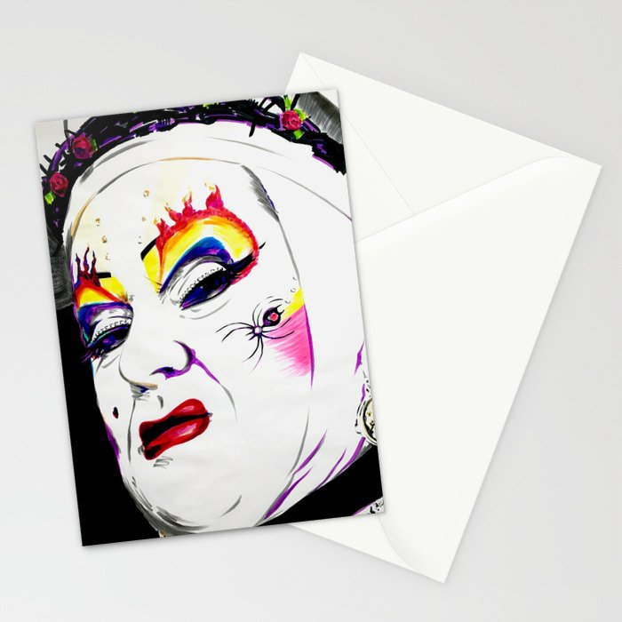 Sister Nora Torious Stationery Cards