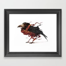 Tapestry Rook Framed Art Print