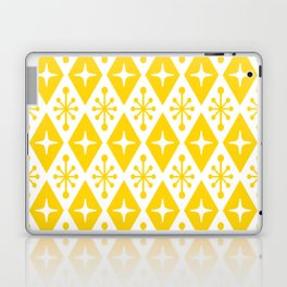 Mid Century Modern Atomic Triangle Pattern 126 Laptop & iPad Skin