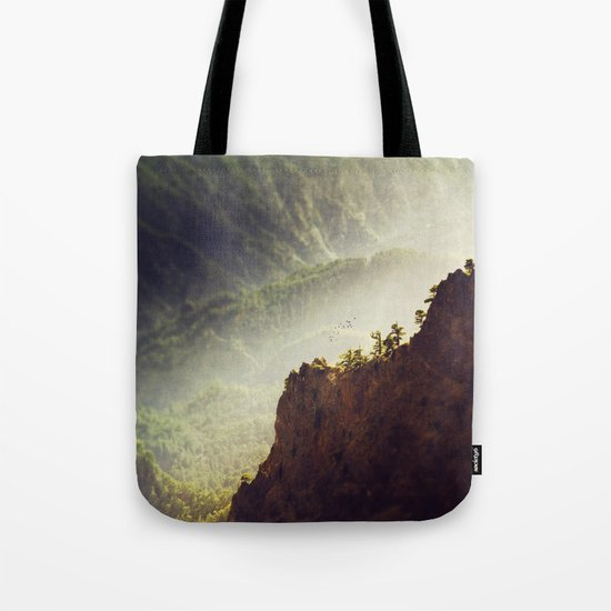 Long Way Down - Caldera de Taburiente - La Palma Tote Bag