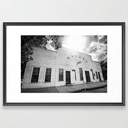Gruene Hall - Oldest Dance Hall in Texas Framed Art Print
