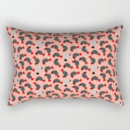 Kids and chicken Rectangular Pillow