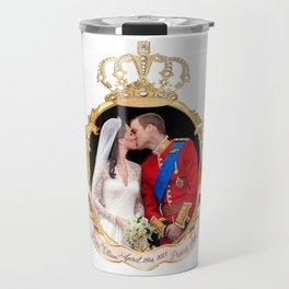 The Kiss, Will and Kate Royal Wedding Travel Mug