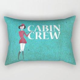 Cabin Crew Rectangular Pillow