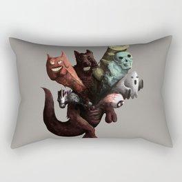 Danger Kangaroo Rectangular Pillow