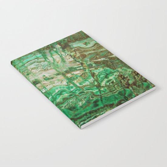 MINERAL BEAUTY - MALACHITE Notebook