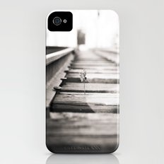 railroad flower  Slim Case iPhone (4, 4s)