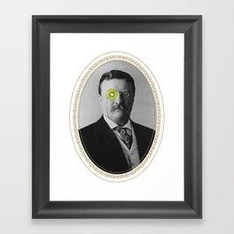 Teddy Kiwi Framed Art Print