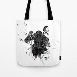 Darth in Dark Tote Bag