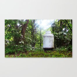 Natural Gas Canvas Print