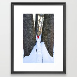 Red Solo Cup Framed Art Print
