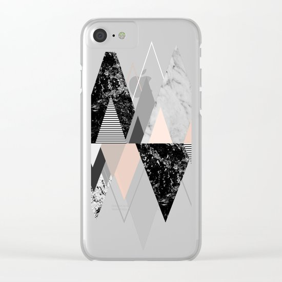 Graphic 117 X Clear iPhone Case