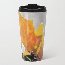Leaf Rose Travel Mug