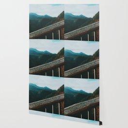 Salt Creek Falls Viewpoint Wallpaper