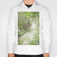 country Hoodies featuring Country Road by Pure Nature Photos