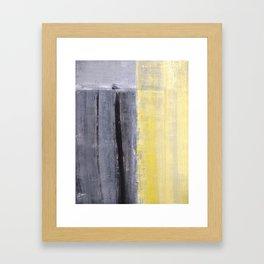 Separated Framed Art Print