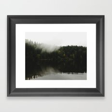 Battle Ground Lake Framed Art Print