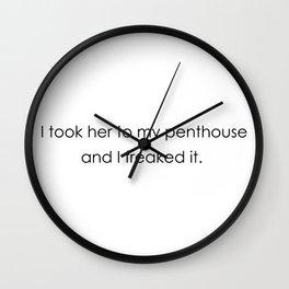 Penthouse Wall Clock