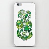 tiki iPhone & iPod Skins featuring TIKI  by Jun Arita