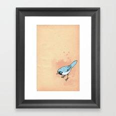 Sing terribly Framed Art Print