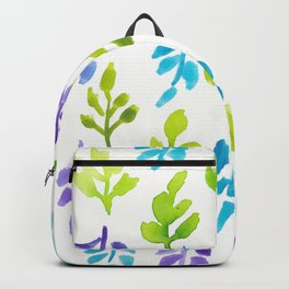 180726 Abstract Leaves Botanical 24|Botanical Illustrations Backpack