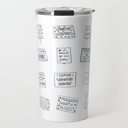 Women's March 2018 Posters Travel Mug