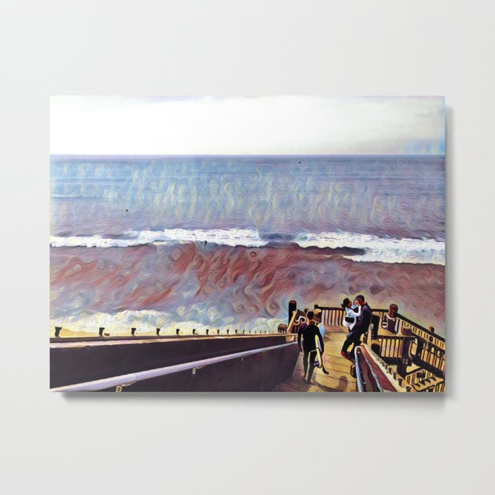 Grandview Lovers Metal Print
