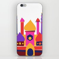 india iPhone & iPod Skins featuring India by Anne