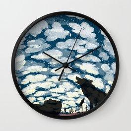 A Million Heavens Wall Clock