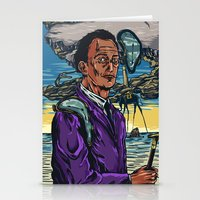 dali Stationery Cards featuring Dali  by Nicolae Negura