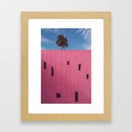 Palm Springs Vibes III Framed Art Print