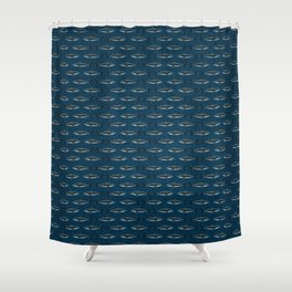 Pattern: Great White Shark ~ (Copyright 2015) Shower Curtain