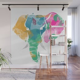 Color Me Wild Wall Mural