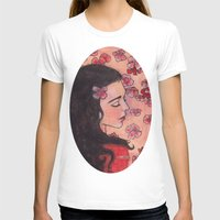snow white T-shirts featuring Snow White by Sarah Larguier