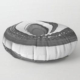 Spiraled Floor Pillow