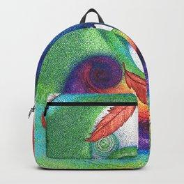 an ocean of color (pointillism) Backpack